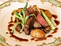 メインを飾る特選豊後牛ステーキ★例特別なお肉を特別なソースで…