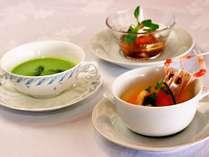 久住の新鮮なお野菜を使ったこだわりのお料理例