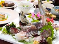 大分県を代表するブランド魚『関アジ姿造り』