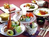 お食事を贅沢に楽しみたい方へ グレードアップ創作料理がおすすめ