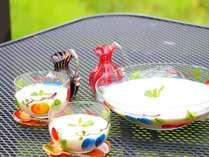 ガンジーヨーグルトは朝食で召し上がれます。