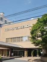 杜の都仙台の中心部に位置し、静かで落ち着いた環境のホテル