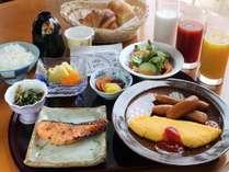 朝食について※現在COVID-19の対策のためセットメニューにてご用意しております。
