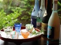 銘酒揃えは飛騨市の地酒がお楽しみいただけます(一例)