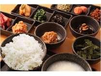 【和食バイキング】エスビーホテル流の和朝食組み合わせ無∞