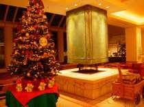 クリスマスツリー&暖炉