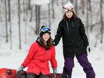 【リフト2日券付】ゲレンデサイドのホテルでスキー&スノーボードを楽しもう!☆朝食付