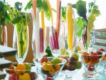 朝食バイキング(イメージ)福島県産の野菜が存分に楽しめるご朝食(Open 7:00 - Close 9:30)