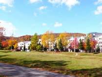 美しい木々に囲まれる紅葉リゾート・グランデコ【10月中旬頃】