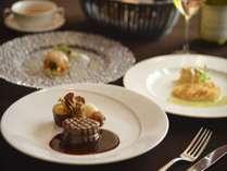 フレンチフルコース(イメージ)フレンチと東北の食材のマリアージュをテーマに・・・