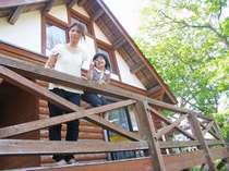 ≪貸切利用≫隠岐の自然に囲まれたログハウスに宿泊◆素泊まり◆