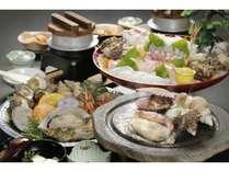【隠岐グルメ】新鮮!海鮮石焼料理に舌つづみプラン♪◆2食付◆