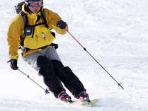 *【スキーイメージ】日光湯元温泉スキー場は当館より徒歩約6~7分♪