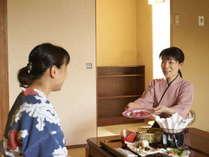 【夕食個室】 周囲を気にせずお連れ様と気兼ねなく♪ゆっくりご夕食を堪能☆「個室食プラン」