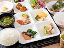 【LOHAS無料健康朝食】日替わりメニューとなっております。