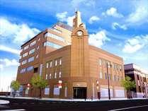 外観は過去に同じ場所に建っていた旧森屋百貨店を模したウイニングホール