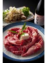 近江牛のすき焼き  ~まろやかでコクがある近江牛をご堪能ください~