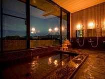 貸切温泉『山望の湯』。水入らずの貸切利用♪温泉でゆったりとお寛ぎくださいませ