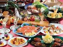 【夏休み】グリーンランド入園券付♪夕食大皿盛プラン