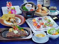 【夕食イメージ】庭園ディナーコース
