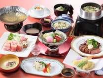 【夕食 和洋】和洋会席プラン 料理一例