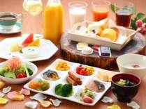 【朝食】和洋バイキング イメージ/ホテルメイドパンも好評