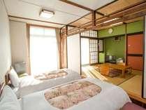 和洋室(アネックス・景観なし)の一例