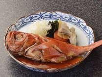 別注料理 ~金目鯛の煮つけ~