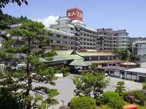 【外観】山形県上山地区は開湯540年以上の歴史ある温泉郷。当館は昭和26年創業です。