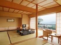 【和室10+4.5畳】10畳の和室に、襖を隔て4.5畳の次の間が付いたゆったり広いお部屋