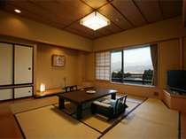 【和室8畳】蔵王側のお部屋イメージ。ご指定は別途指定料を頂戴致します(イメージ/615号室)