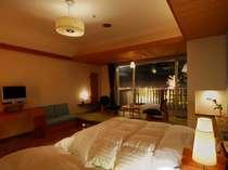 【和風モダン室】少しずつインテリアの異なるお部屋が5室ございます