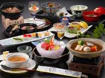 【花笠膳】古窯特製和風ビーフシチューといも煮メインの和食膳です(※イメージ)