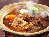 【和風ビーフシチュー】牛肉と野菜の旨味が溶け込んだ古窯オリジナルの一品です(※別注も可能)