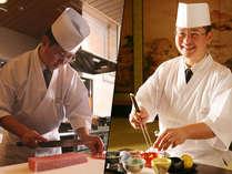 【古窯総料理長】全国技能グランプリ第2位の中川総料理長が手がける料理は山形の魅力を胃袋で体感させる。