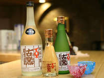 【古窯酒】オリジナルの純米吟醸酒もございます。会食場・売店などで是非お試し下さい。