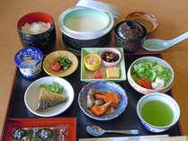 *【朝食】目覚めのカラダにはあったかい定食が一番!