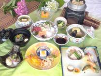 【夢コース】リーズナブルなのにこのボリューム!季節の魚介類焼物盛り合わせがついた創作会席♪2015/6