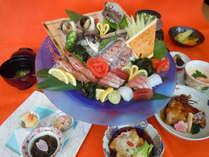 【活け造りコース】新鮮で旬な魚を召し上がれ♪♪