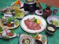 【心コース】せっかくならグレードアップ☆佐賀牛+旬の鮮魚造り