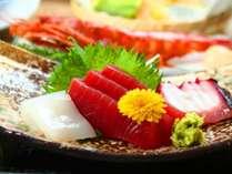 ■【夕食】刺身―夕食は信州ならではの食材を中心とした、旬味覚をお楽しみいただけます。
