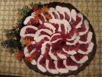 天川村で獲れた野性味あふれる美味しい猪肉
