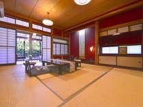 *紅の荘/川沿いの純和風のお部屋。