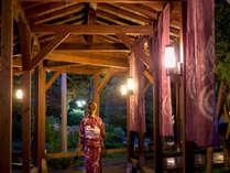 ◆【しっとり】色浴衣を着て宵の廊下をそぞろ歩き
