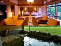 """【離れ】■松の荘-MATSU-■ 当館唯一の """"ベットタイプのお部屋♪"""""""