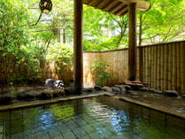"""【大浴場-露天風呂-】 自然の奏でる""""季節のメロディ""""を聞きながら・・・極上の湯の贅を♪"""