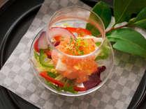 """""""四季折々""""厳選した食材の持ち味を生かし、「可愛く、美味しい」お料理を・・・"""