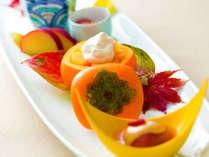 """""""四季折々""""食材の持ち味を生かした「舌に美味しく」「目に美しい」お料理"""