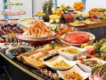 三浦の幸と季節のお料理・カニも食べ放題のディナーバイキング