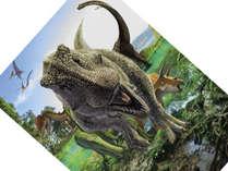 マホロバ・マインズ三浦は「ヨコスカ恐竜パーク2019」に協賛しています。 (C)山本匠
